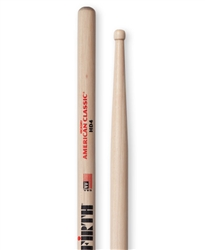 Vic Firth HD4 American Classic HD4 Hickory Drumsticks Wood Tips