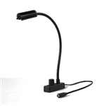 "Littlite L-3/12 High Intensity Lampset. Permanent Mount 12"" Gooseneck. With Power Supply and Mounting Kit"