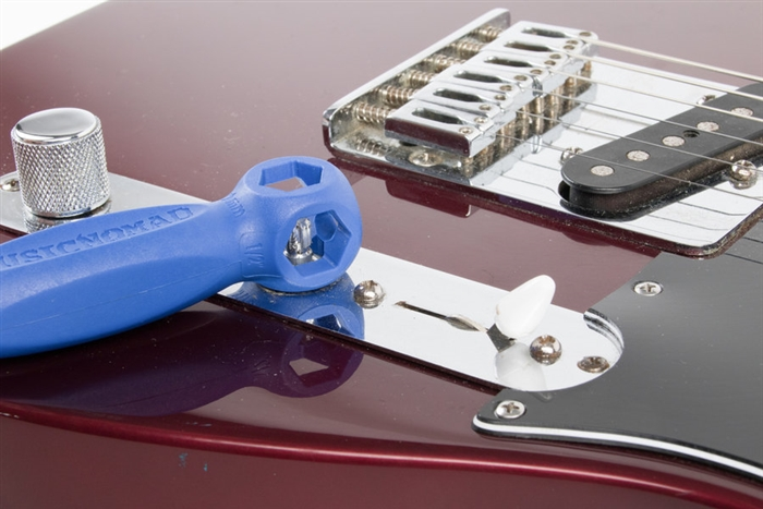 Premium Guitar Tech Screwdriver and Wrench Set