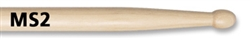 Vic Firth Corpsmaster Snare Drum Stick Wooden Tip