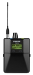 Shure P9RA Rechargeable Wireless Bodypack Receiver - G6 - (470.12 - 505.82 MHz)