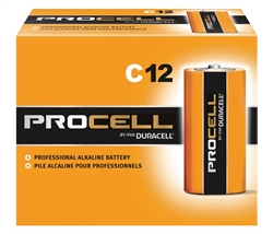Duracell Procell C Batteries  PC1400 Sold in Boxes