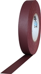 Pro Tapes 1 Inch x 55 Yards Pro Gaff Tape - Burgundy