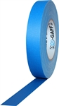 Pro Tapes 3 Inch x 55 Yards Pro Gaffer Tape - Electric Blue