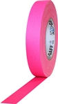 Pro Tapes 1 Inch x 50 Yards Pro Gaff Tape - Fluorescent Pink