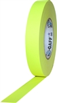 Pro Tapes 1 Inch x 50 Yards Pro Gaff Tape - Fluorescent Yellow