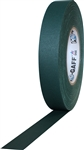 Pro Tapes 1 Inch x 55 Yards Pro Gaff Tape - Green