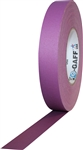 Pro Tapes 1 Inch x 55 Yards Pro Gaff Tape - Purple