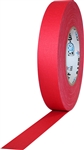 Pro Tapes 1 Inch x 55 Yards Pro Gaff Tape - Red