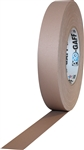 Pro Tapes 1 Inch x 55 Yards Pro Gaff Tape - Tan