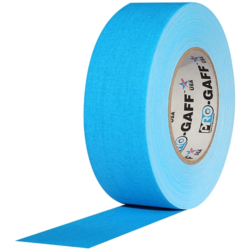 Pro Tapes Pro-Gaff Gaffers Tape x 55 yds. Teal 1 in