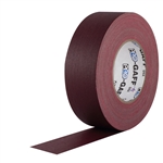 Pro Tapes 2 Inch x 55 Yards Pro Gaffer Tape - Burgundy