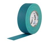 Pro Tapes 2 Inch x 55 Yards Pro Gaffer Tape - Teal