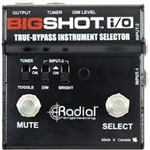 Radial Engineering BigShotï¾™ i/o true bypass instrument selector