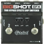 Radial Engineering BigShotï¾™ EFX true bypass effects switcher