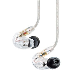 Shure SE215-CL (Clear) Sound Isolating Earphones