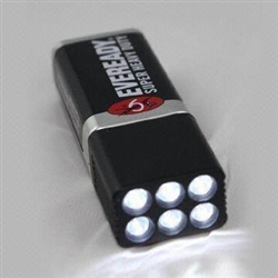 Tour Supply Blocklite 9 Volt LED Flashlight