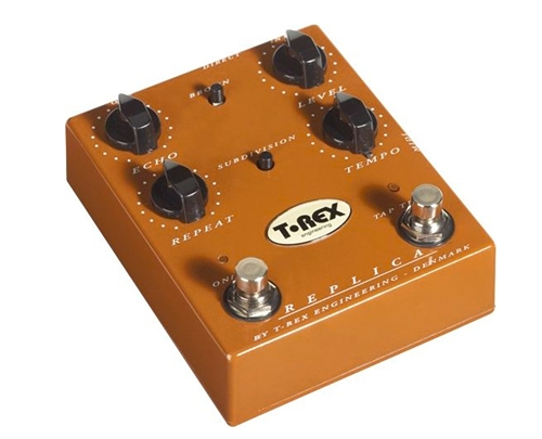T-Rex REPLICA Delay Analog Digital Pedal 24 Bit 200kHz Trex