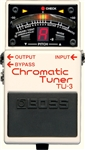 BOSS TU-3 Chromatic Tuner and Power Supply Pedal