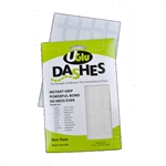 Pro Tapes UGlu 600 Dashes Sheets - 1/2 Inches x 5/8 Inches