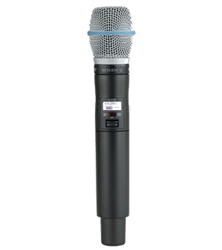 Shure ULXD2/B87A G50 (470-534mhz) Handheld Wireless Microphone Transmitter - ULXD2 Beta87A - G50 (470-534mhz)