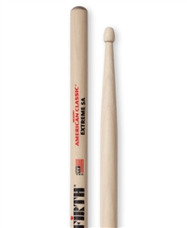 Vic Firth  X5A American Classic Extreme 5A Hickory Drumsticks Wood Tips