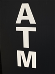 "ATM Reflective Transfer Decal - 5.5"" x 16.5"""