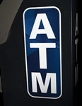 "ATM Reflective Transfer Decal - 7.75"" x 19"""