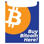 Buy Bitcoin Here Hyosung 2800 Force Front Panel Decal