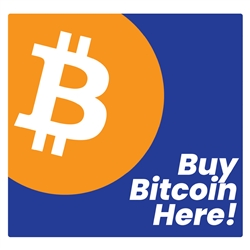 Buy Bitcoin Here Hyosung 2600 Halo 2 Front Panel Decal