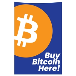 Buy Bitcoin Here Triton Traverse Front Panel Decal
