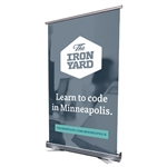 Retractable Banner with Stand 31.5X51.5