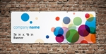 GetBranded.com- 36 in x 96 in Single Sided Full Color Banner