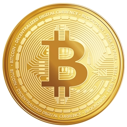 3 in Bitcoin Decal