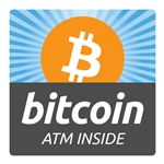 4 x 4 in Bitcoin ATM Inside Decal
