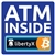 4 x 4 in Bitcoin ATM Inside LibertyX Decal