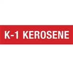 "Kerosene Decal - 12""x3"""