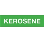 "Kerosene Decal - 12""x3"" - Green"