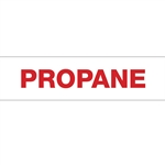 "Propane Decal - 12""x3"""