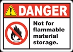 4x3DAN-Not For Flammable Storage