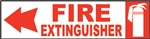 8x2EME-Fire Extinguisher Left Arrow