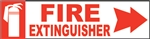 8x2EME-Fire Extinguisher Right Arrow