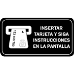 Spanish Chip enabled Smart card instructions