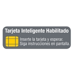 Spanish Smart Card Decal