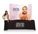 EZ Tube Display 6ft Curved Table Top Double Sided (Frame & Graphic)