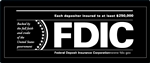 FDIC 12 x 5 inch Decal-GetBranded