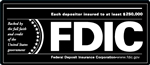 FDIC 7 x 3 inch Decal-GetBranded