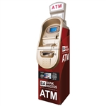 Bank Access Red ATM Wrap - Generic