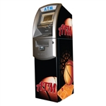 Basketball ATM Wrap - Generic