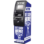 Get Cash Here ATM Wrap - Blue Fist - Generic